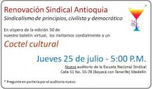 Evento Renovación Sindical